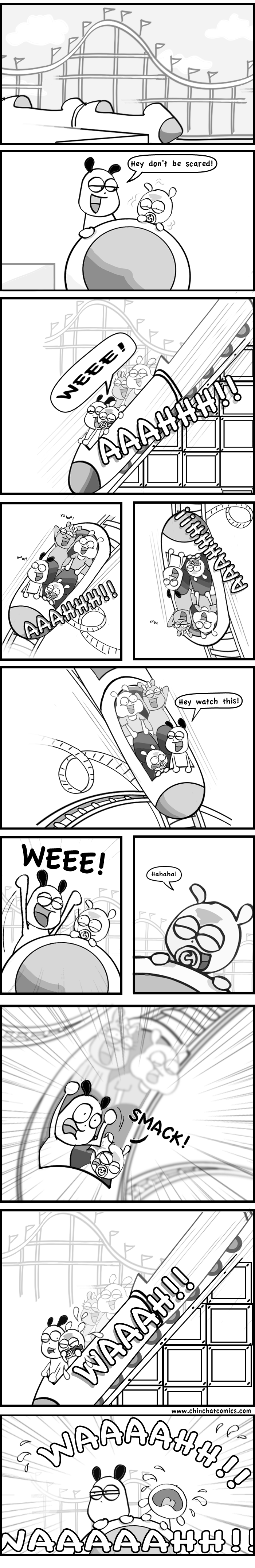 Chinchilla Roller Coaster Disaster! (ChinChatComics x FMyLife)